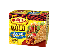 Bold Ranch Stand'n Stuff Taco Shells