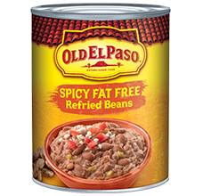 Spicy Fat Free Refried Beans