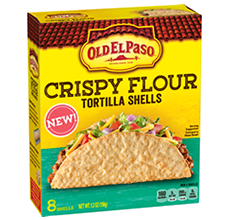 Crispy Flour Tortilla Shells | NEW