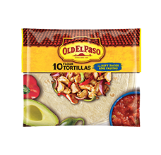 Flour Tortillas 10 Count for Soft Tacos and Fajitas
