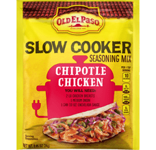 OEP Slow Cooker Seasoning Mix Chicken Chipotle