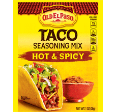 Hot and Spicy Taco Seasoning Mix