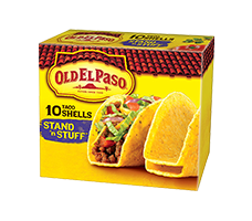 Stand'n Stuff Taco Shells 10 Count