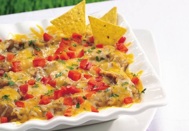 Cheesy Bean Dip