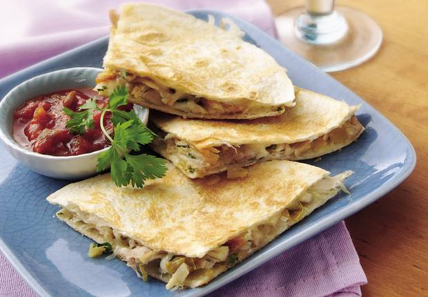 Chicken Quesadilla Sandwiches