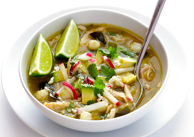 Easy Chicken Posole Verde Recipe