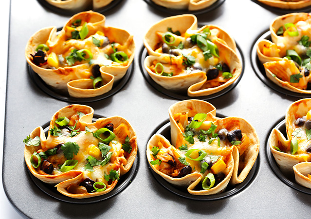 Easy Enchilada Cups