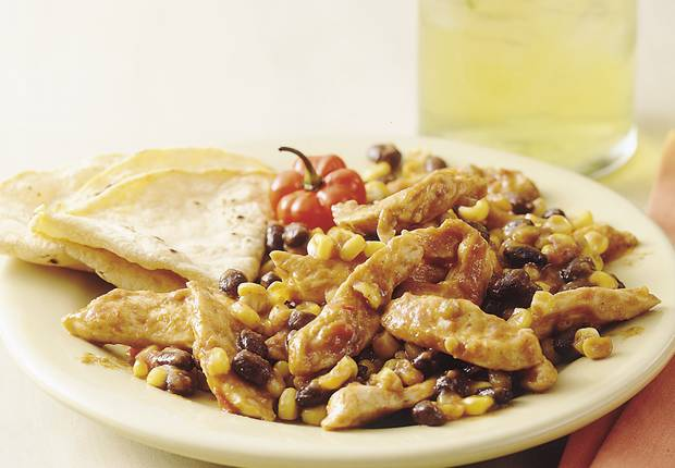Easy Mexican Chicken and Beans Recipe