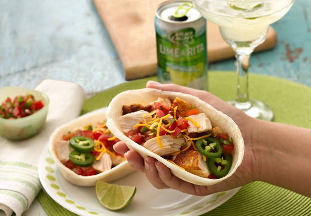 Grilled Chicken Rita Taco Boats