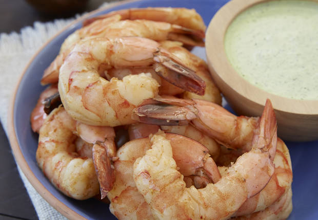 Mexican Shrimp Boil with Jalapeno Aioli