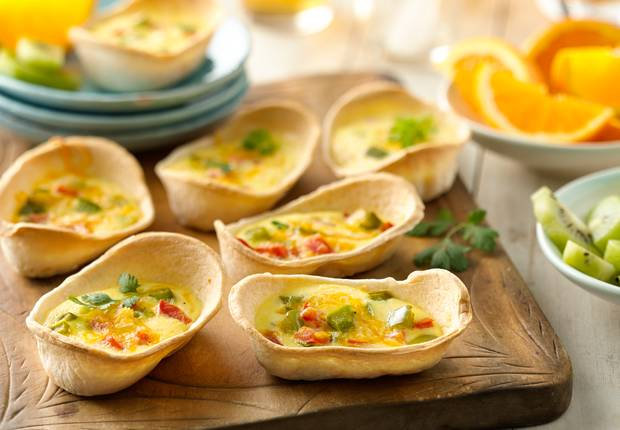 Mini Quiche Boats