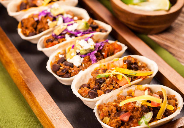One Skillet Mini Taco Boats Recipe
