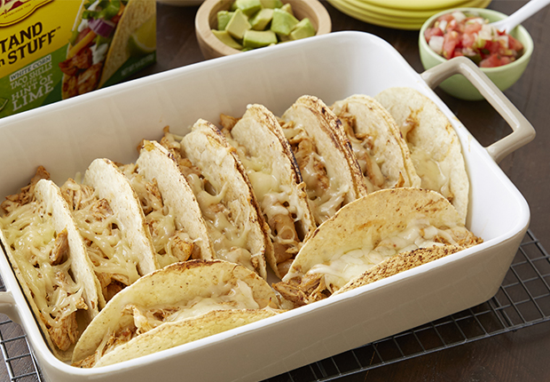 oven-baked-cheesy-chicken-tacos