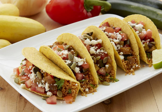 Quinoa Tacos with Summer Vegetables