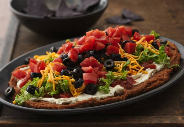 Seven Layer Bean Dip