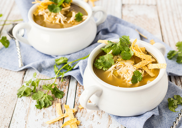 Slow Cooker Green Enchilada Soup
